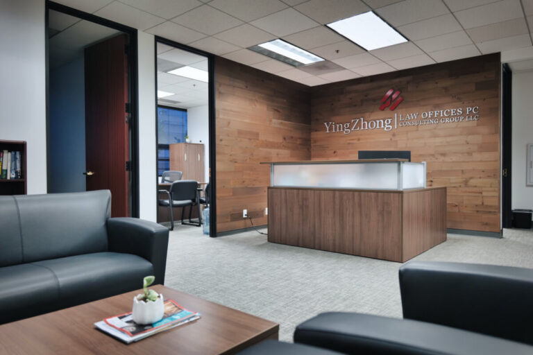 Yingzhong Law Office Reception