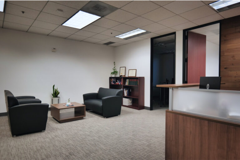 Yingzhong Law Office Reception Area