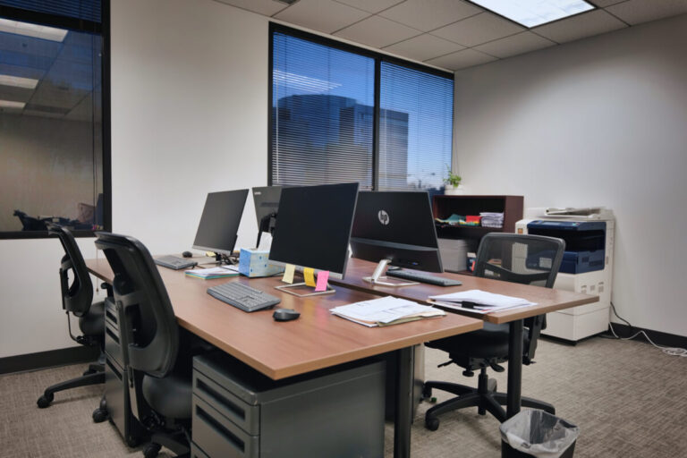 Yingzhong Law Office Desk Area