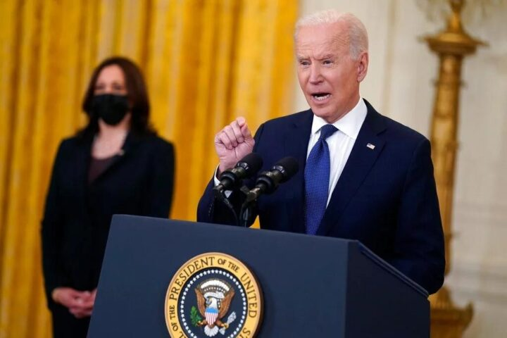 Biden made a new announcement at his press conference